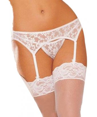 wedding garter belt stockings