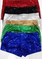 sequin short shorts