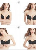 Strapless 'Invisible' Cleavage Bra