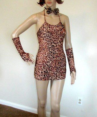 leopard dress costume