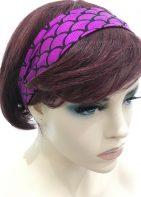 Women's Hairband With Metallic Sheen Fabric