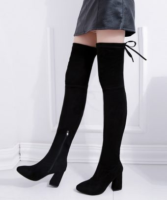 Women-Stretch-Faux-Suede-Thigh-High-Boots-Sexy-Fashion-Over-the-Knee-Boots-High-Heels
