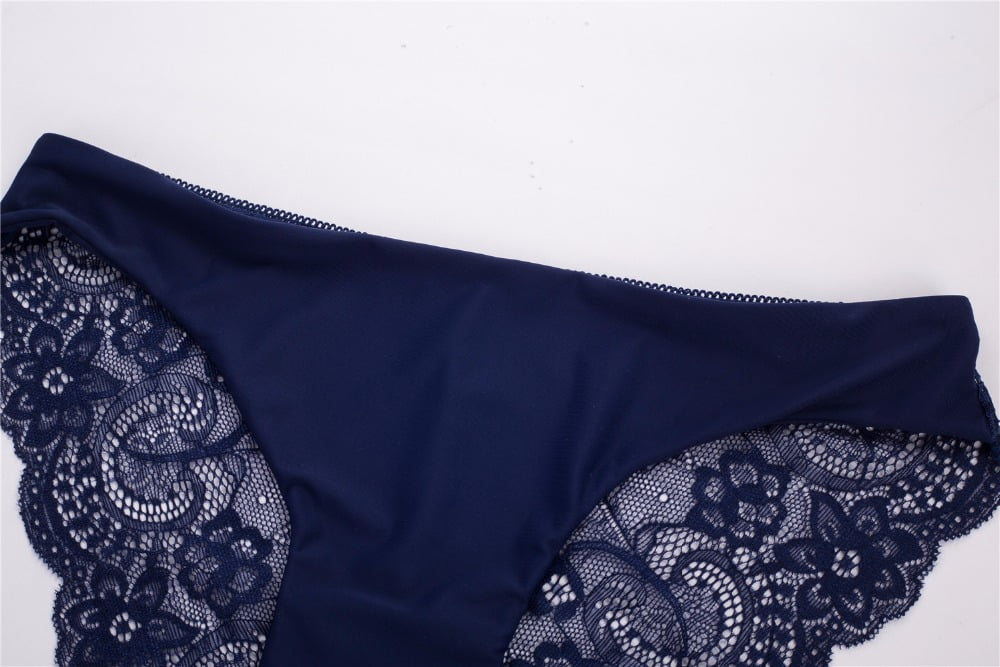 RE Ladies underwear woman panties fancy lace calcinha renda sexy panties for women traceless crotch of cotton briefs hot sale 14