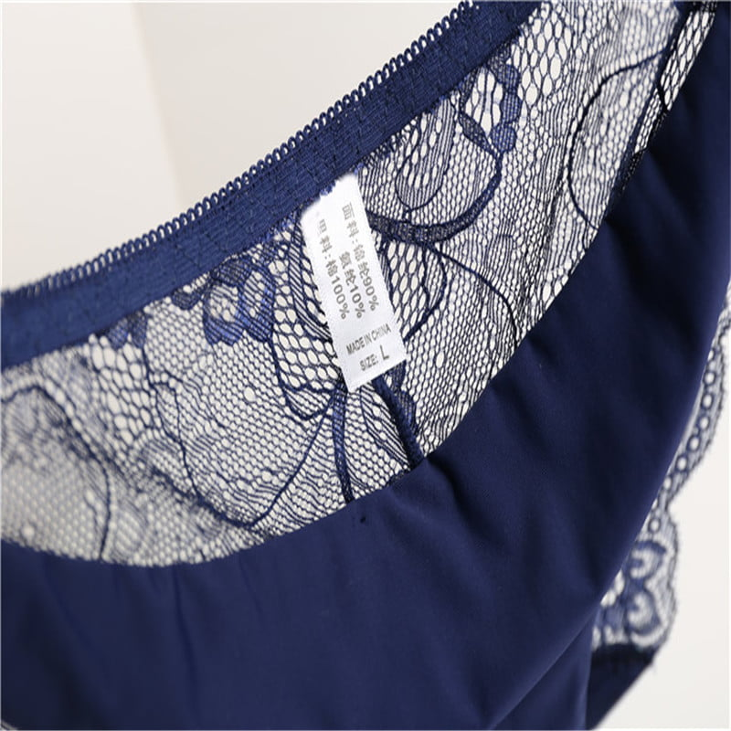 RE Ladies underwear woman panties fancy lace calcinha renda sexy panties for women traceless crotch of cotton briefs hot sale 18