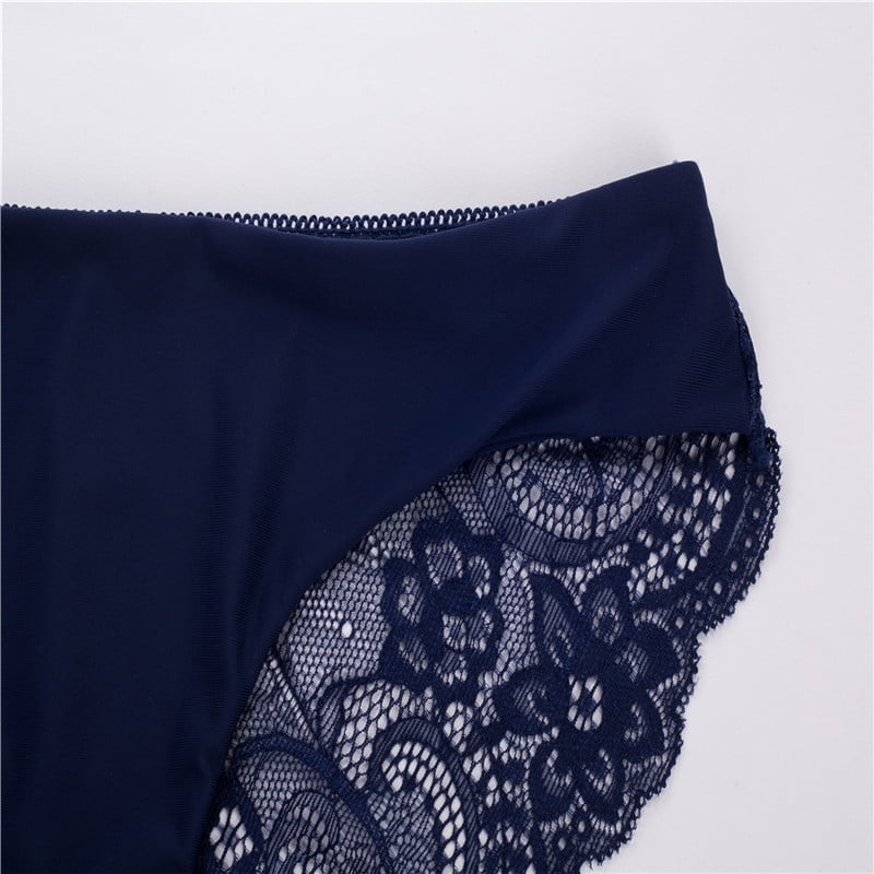 RE Ladies underwear woman panties fancy lace calcinha renda sexy panties for women traceless crotch of cotton briefs hot sale 15