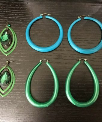 Earrings-Ladies Jewelry-Hoop-Large Hoop Earrings