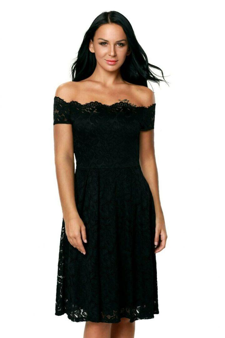 Plus Size Off The Shoulder Lace Fashion Dress