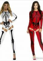 BAD TO THE BONE SKELETON COSTUME