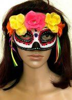 ay Of The Dead Dia De Los Muertos Adult One Size Mask