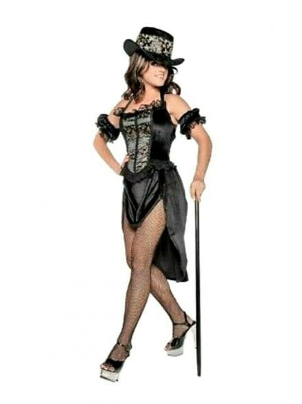 Moulin Rouge Costume-Halloween-Women-Adult-Costume