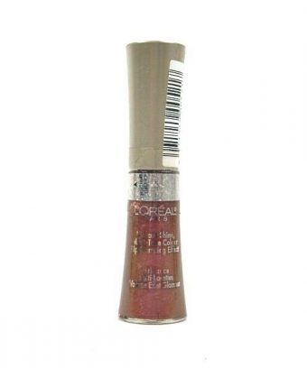 L'Oreal Glam Shine Holographic Vibrant Shine Plumping Lip Gloss in color #850 VIBE.